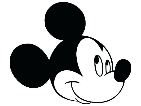 600x450 Mickey Mouse Template Free Mickey Mouse Head Outline Mickey Mouse