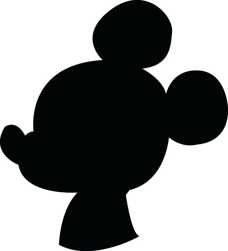 736x809 Precious Mickey Mouse Head Outline Minecraft Coloring Pages