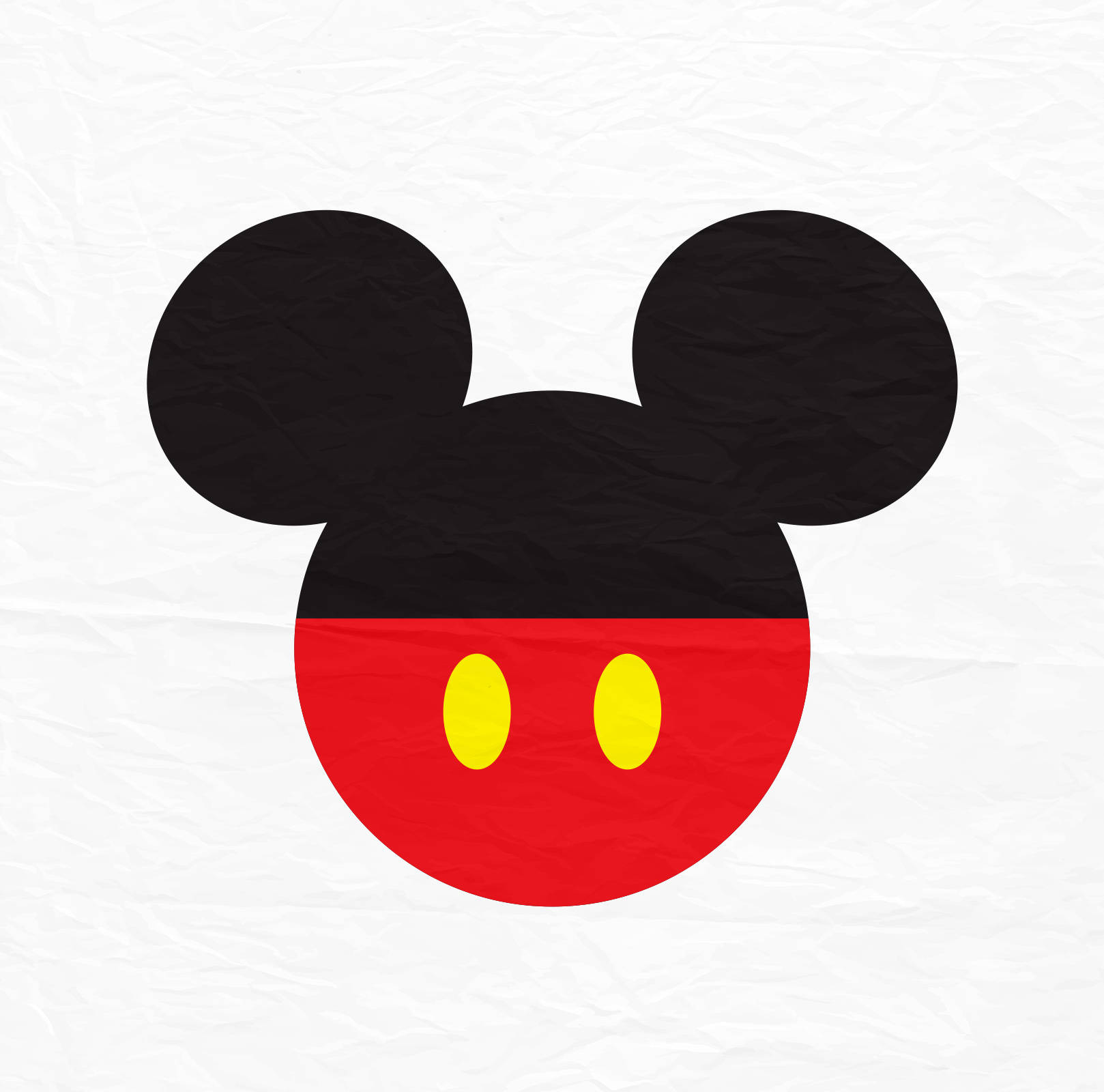 1618x1600 Mickey Mouse Svg Mickey Mouse Ears Svg Mickey Mouse With Red