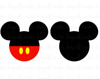 340x270 Mickey Mouse Clipart Black Head