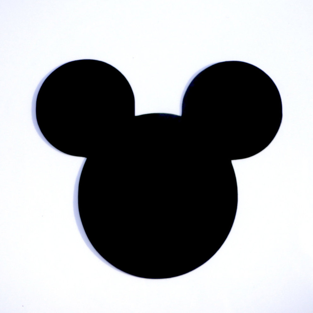 1000x1000 4 Mickey Mouse Head Ears Die Cut Disney's Mickey