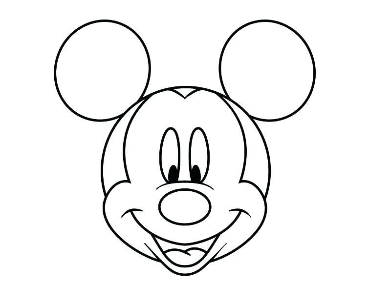 800x625 Printable Mickey Mouse Head Printable Mouse Mouse Printable