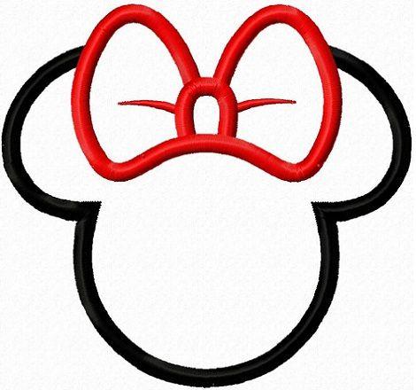 470x440 Mickey Minnie Mouse Head Silhouette Boyama Mickey