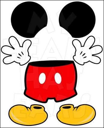 345x426 Resultado De Imagen Para Mickey Mouse Dibujos Para Personalizar