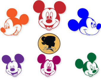 340x270 Mickey Mouse Die Cut Set Mickey Mouse Clubhouse Ears Head, Mickey