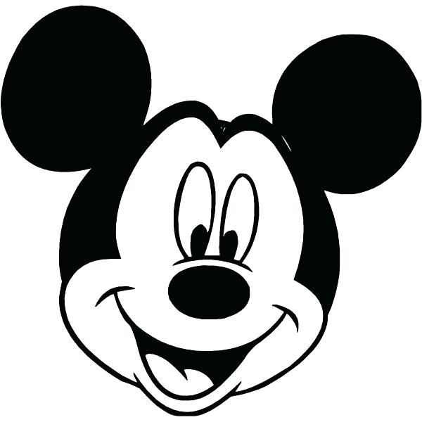 600x600 Mickey Mouse Print Out Mickey Printable Mickey Mouse Clip Art