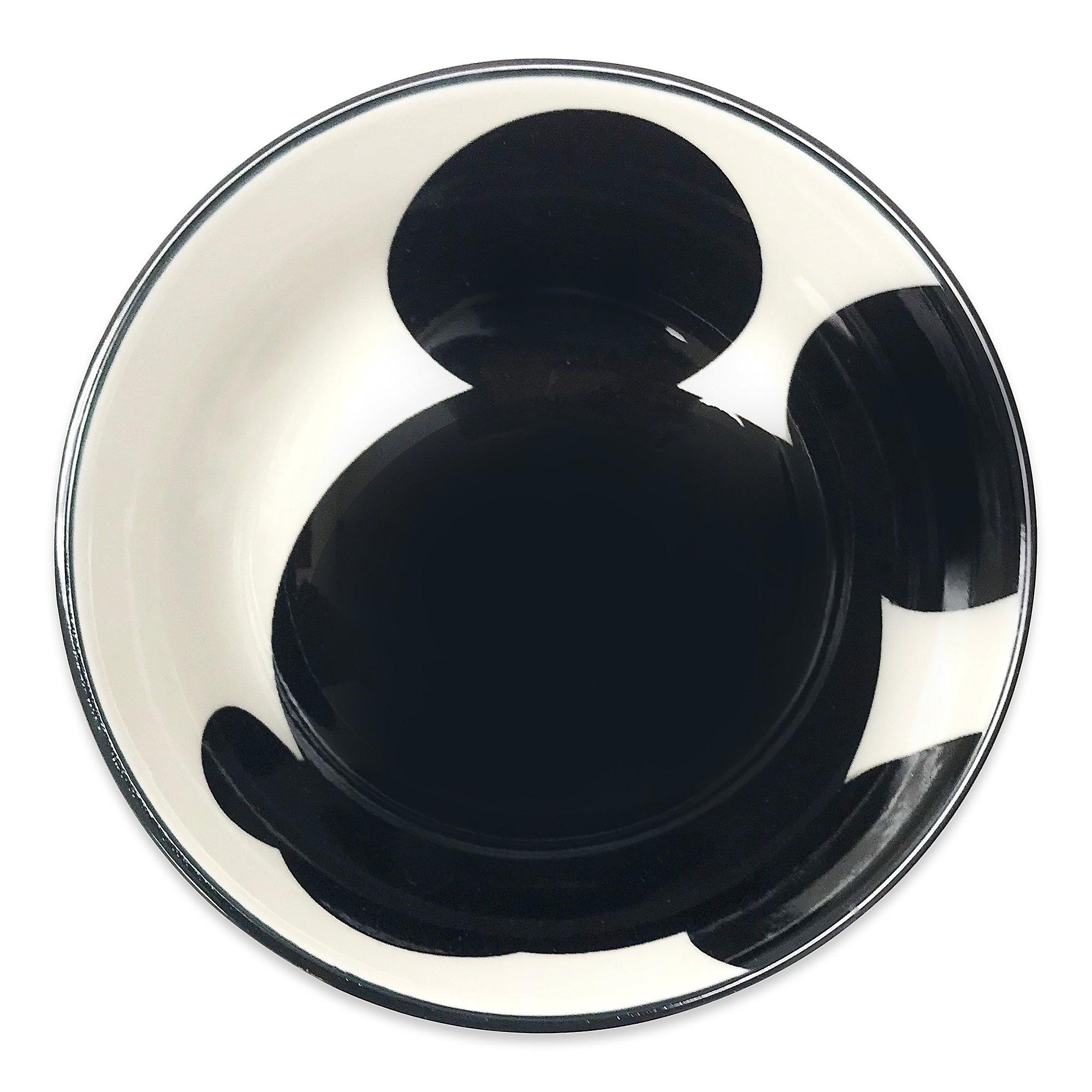2000x2000 Mickey Mouse Silhouette Tidbit Bowl Shopdisney