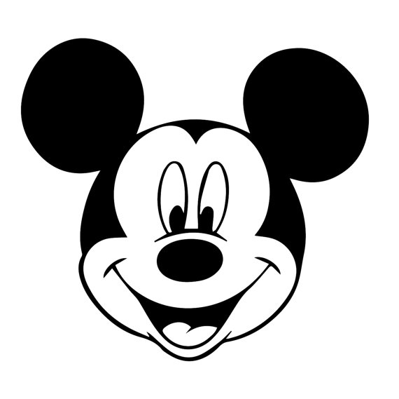570x569 Mickey Mouse Svg,walt Disney Eps, Mickey Mouse Silhouette,walt