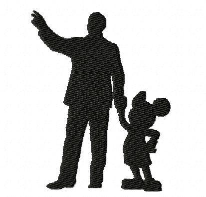 413x395 disney silhouette