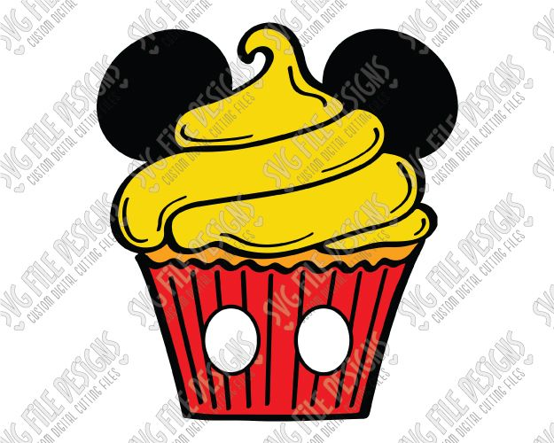 625x500 Mickey Mouse Cupcake Clipart amp Mickey Mouse Cupcake Clip Art