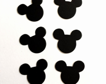340x270 Mickey Mouse Head Template Luxury Mickey Mouse Ears Silhouette