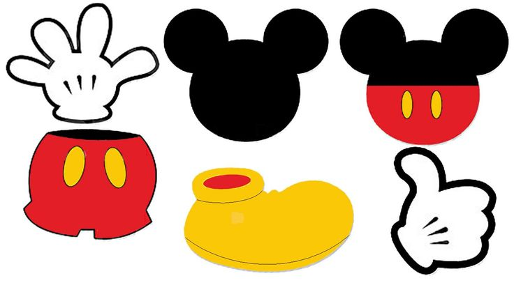 736x409 Free clipart mickey mouse
