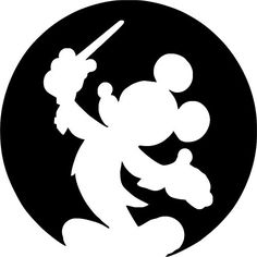 236x236 Mickey Mouse Silhouette Clipart