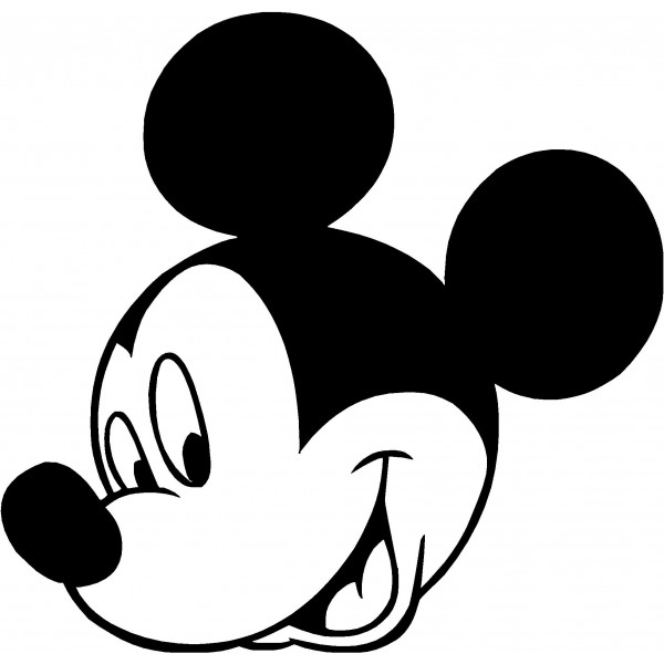 600x600 Mickey Mouse Head Clipart