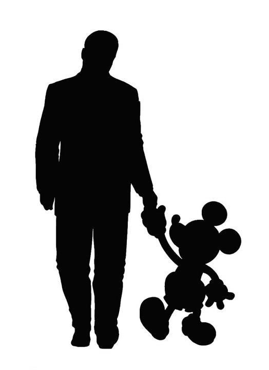 524x720 Shaow Clipart Mickey Mouse