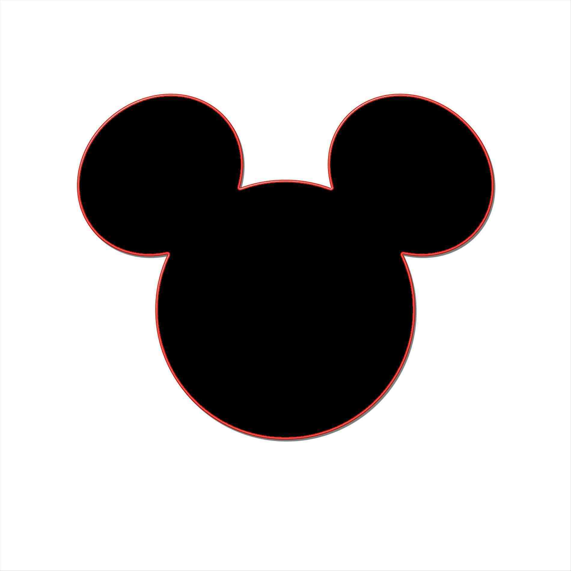 Mickey Mouse Silhouette Images at GetDrawings.com | Free for ...