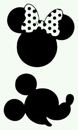 301x500 Minie E Mickey Crafts Cricut, Silhouettes And Mice