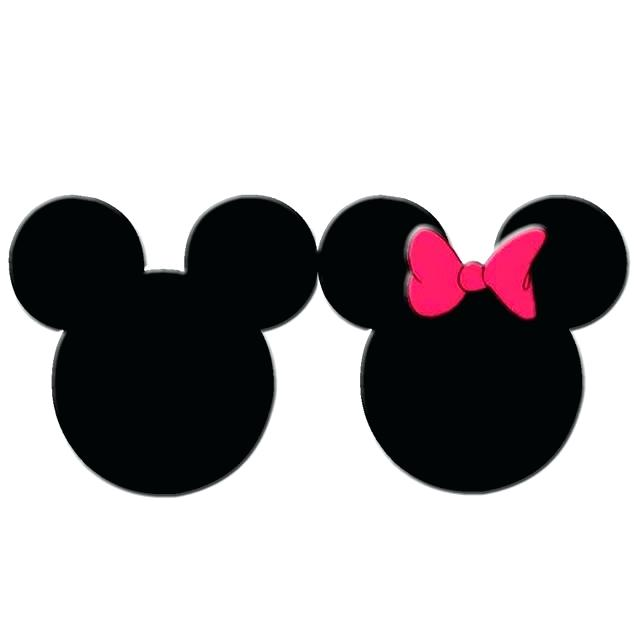 640x640 Mickey Mouse Head Silhouette 27 Plus Mickey Mouse Head Template