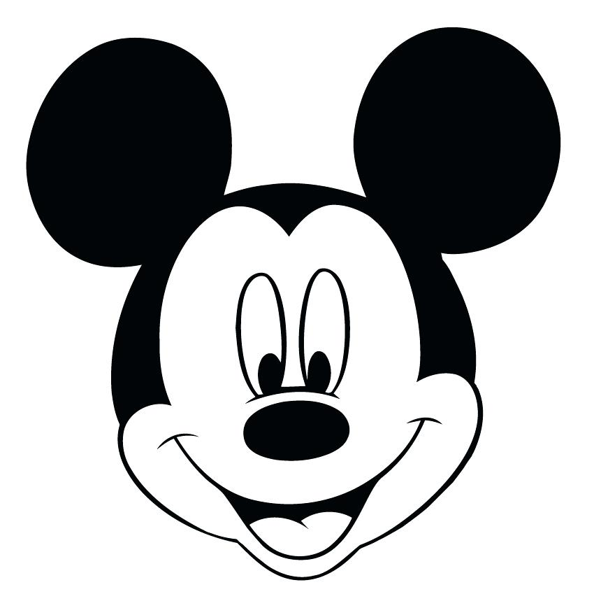Mickey mouse silhouette template at getdrawings free for 850x879 mickey mouse head silhouette together with head outline template maxwellsz