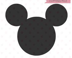 235x187 Mickey Mouse Silhouette Head Svg, Clip Art, Download In Digital