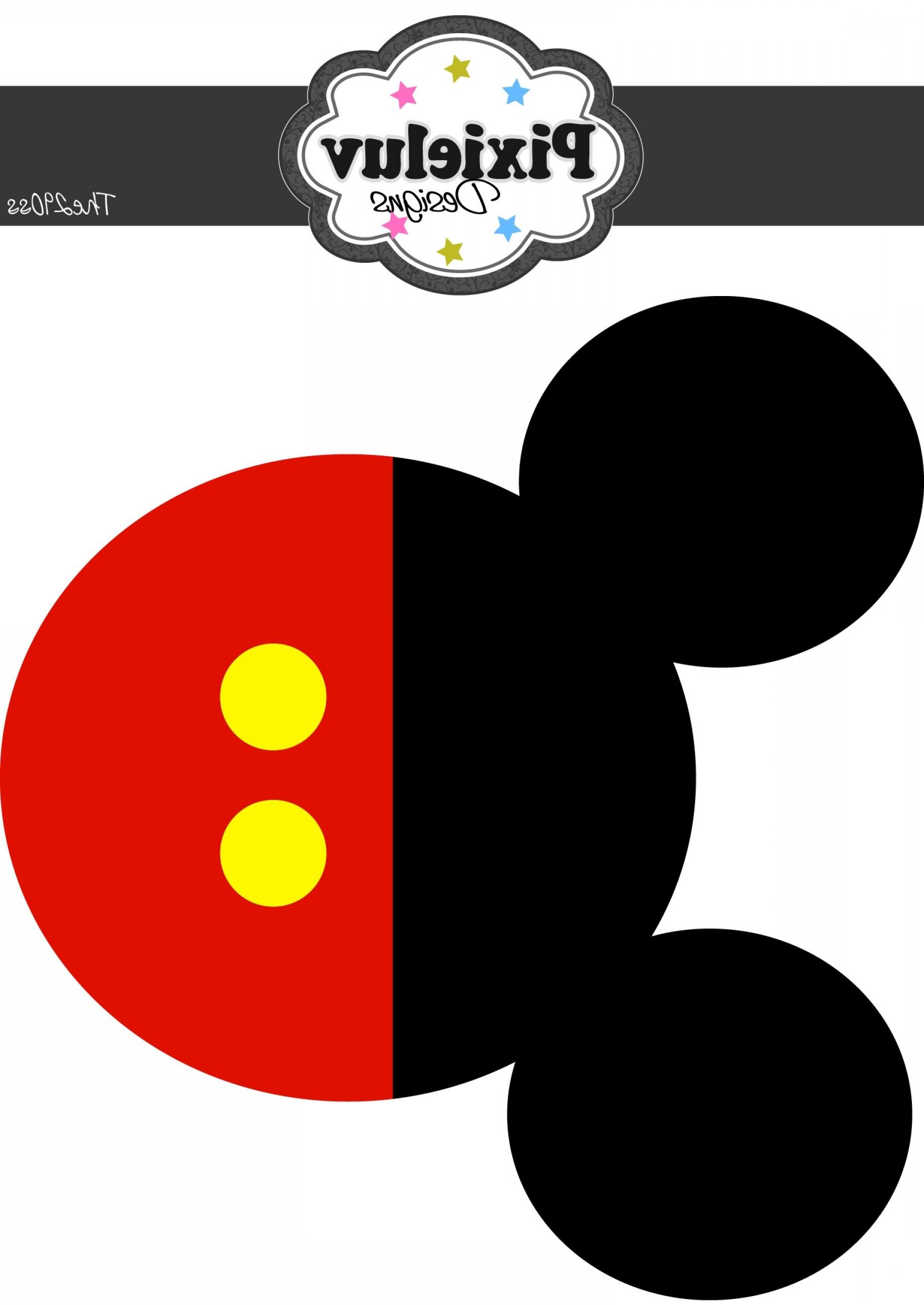 1836x2592 Mickey Silhouette Vector Lazttweet