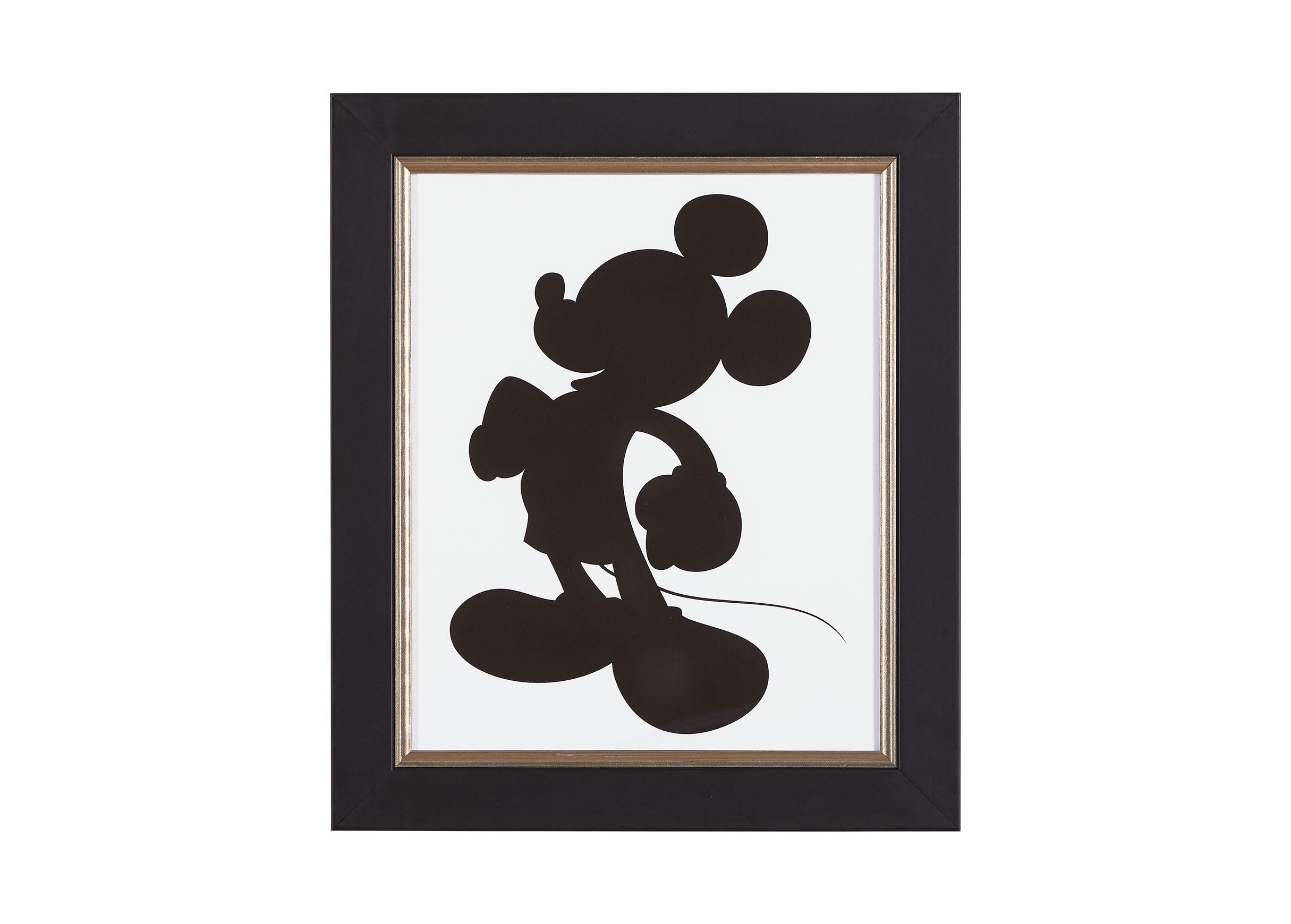 2430x1740 Mickey Silhouette I Art Ethan Allen