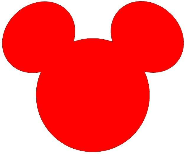 626x521 Mickey mouse ears silhouette clip art clipart