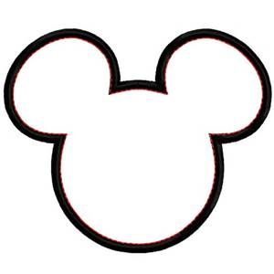 300x300 free mickey silhouette
