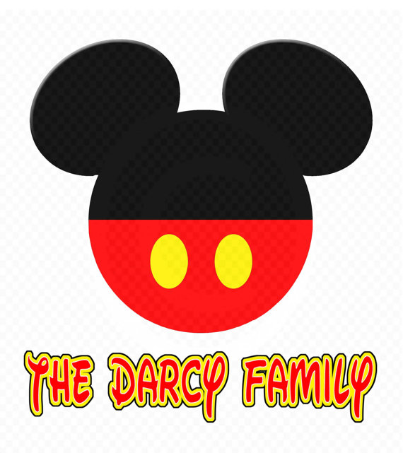 570x641 Instant Download Mickey Mouse Head Silhouette Diy
