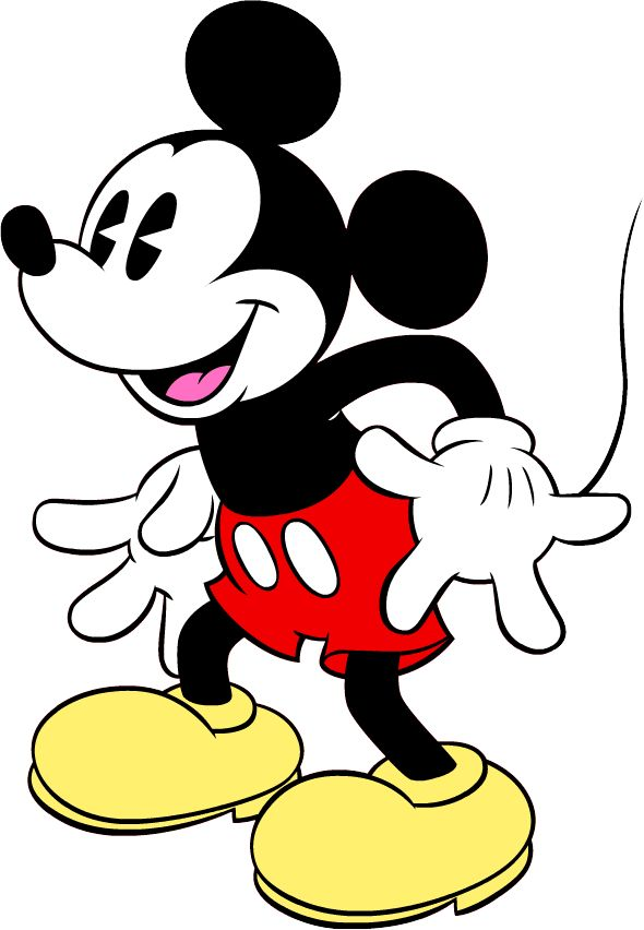 590x852 Mickey Mouse Clipart Cute