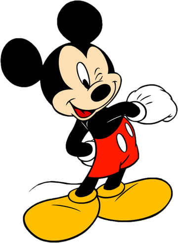 360x491 Mickey Mouse Clip Art Silhouette Free Clipart Images 3