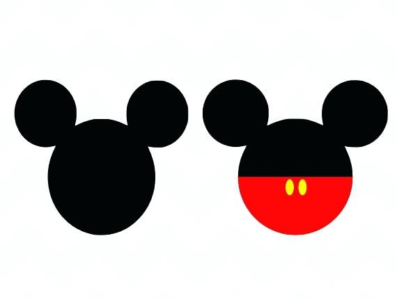 570x428 Mickey Mouse Head Silhouette Plus Mickey Mouse Head Silhouette