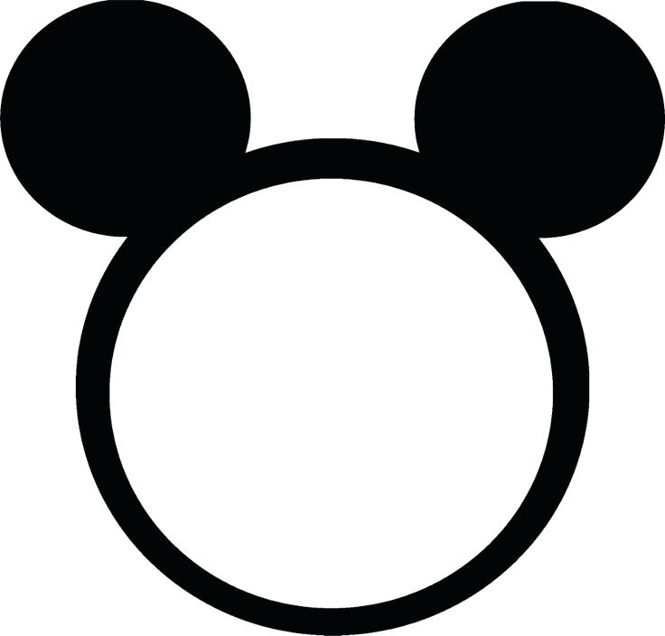 736x704 Mickey Head Outline Tattoo Mickey Mouse Outline Tattoo Head