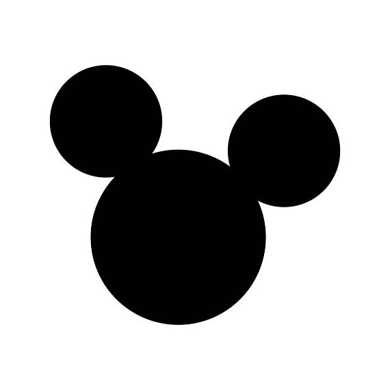 570x570 Mickey Mouse Ears Disney Svg Cricut Silhouette Dxf Eps Png Cdr Ai