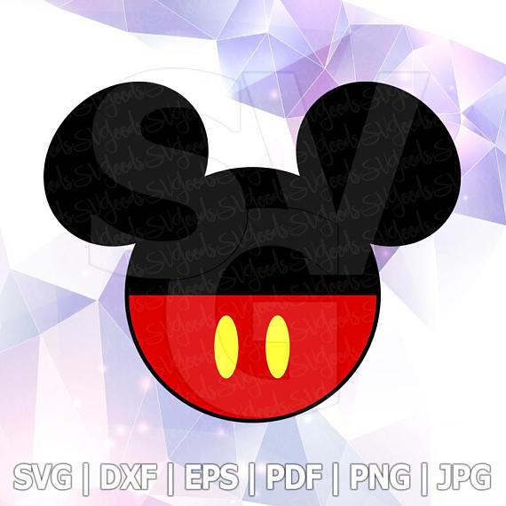 570x570 Mickey Mouse Head Svg Dxf Eps Vector Cuttable File Cricut Cameo