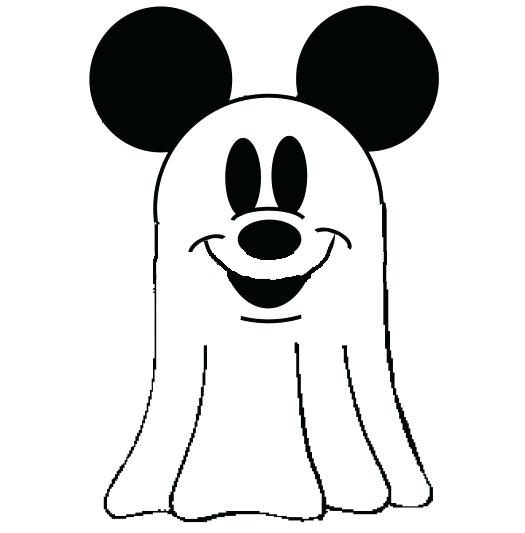 525x533 Mickey Mouse Head Silhouette Together With Mouse Mickey Mouse Clip