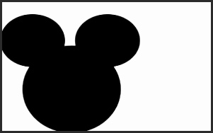301x188 Outline Of Mickey Mouse Head Ldzfa Lovely Mickey Mouse Valentine