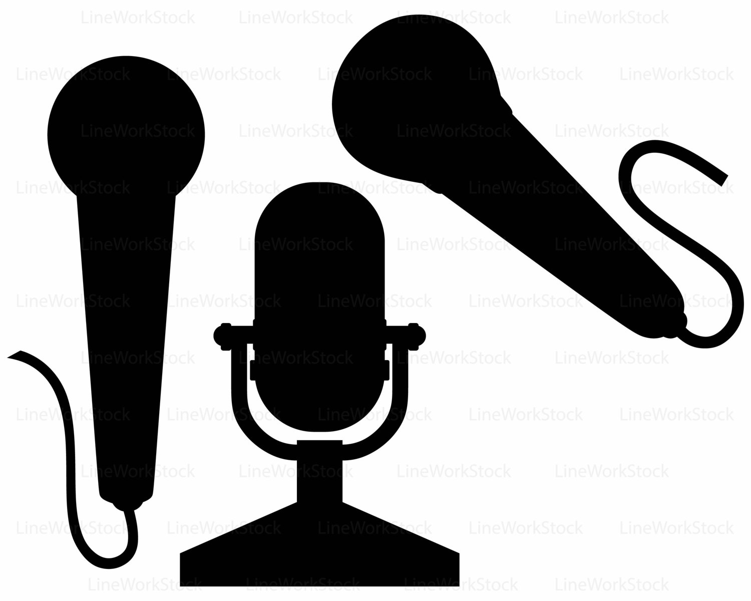1500x1200 Microphone Svgmicrophone Clipartmicrophone Svgmicrophone