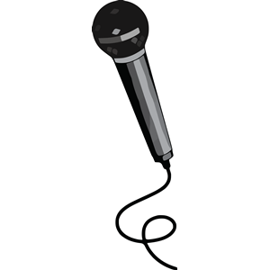 300x300 Microphone Clipart Microphone Black Clipart, Cliparts