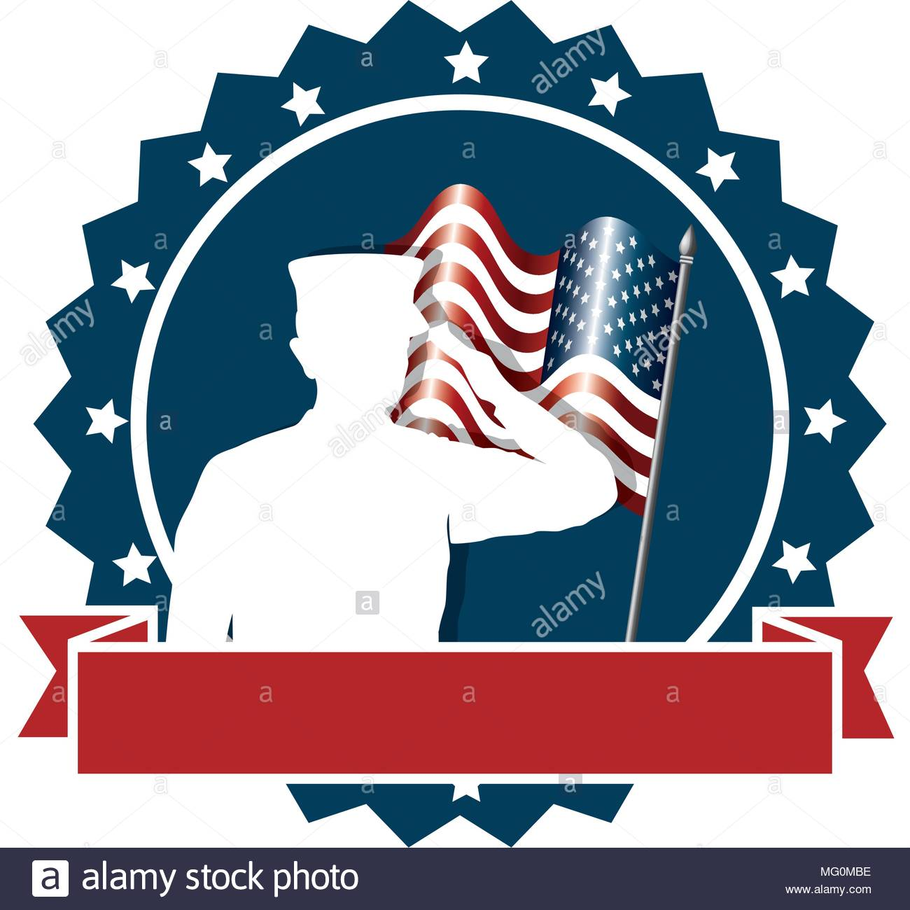 1300x1300 Silhouette Soldier Saluting American Flag Stock Photos