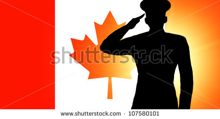 450x245 Soldier Saluting Flag Clipart
