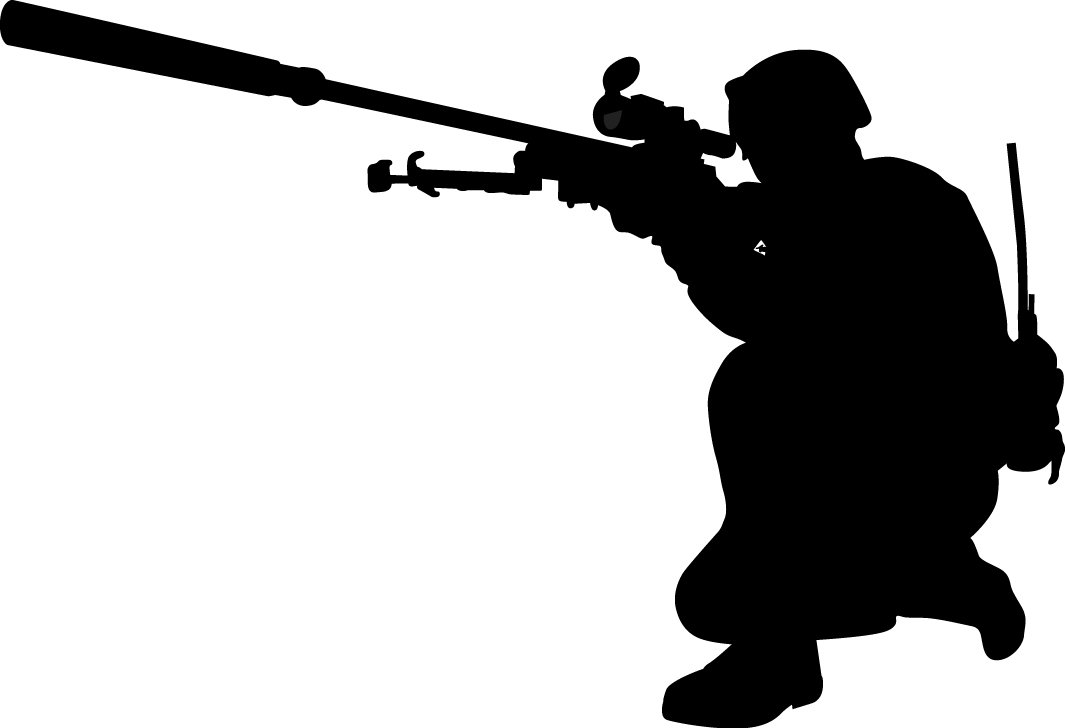 1065x728 Wallhogs Haynes Military Soldier Vi Silhouette Cutout Wall Decal
