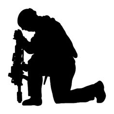236x236 Military Silhouettes Free Graphics Clipart 12368 Soldier Salute
