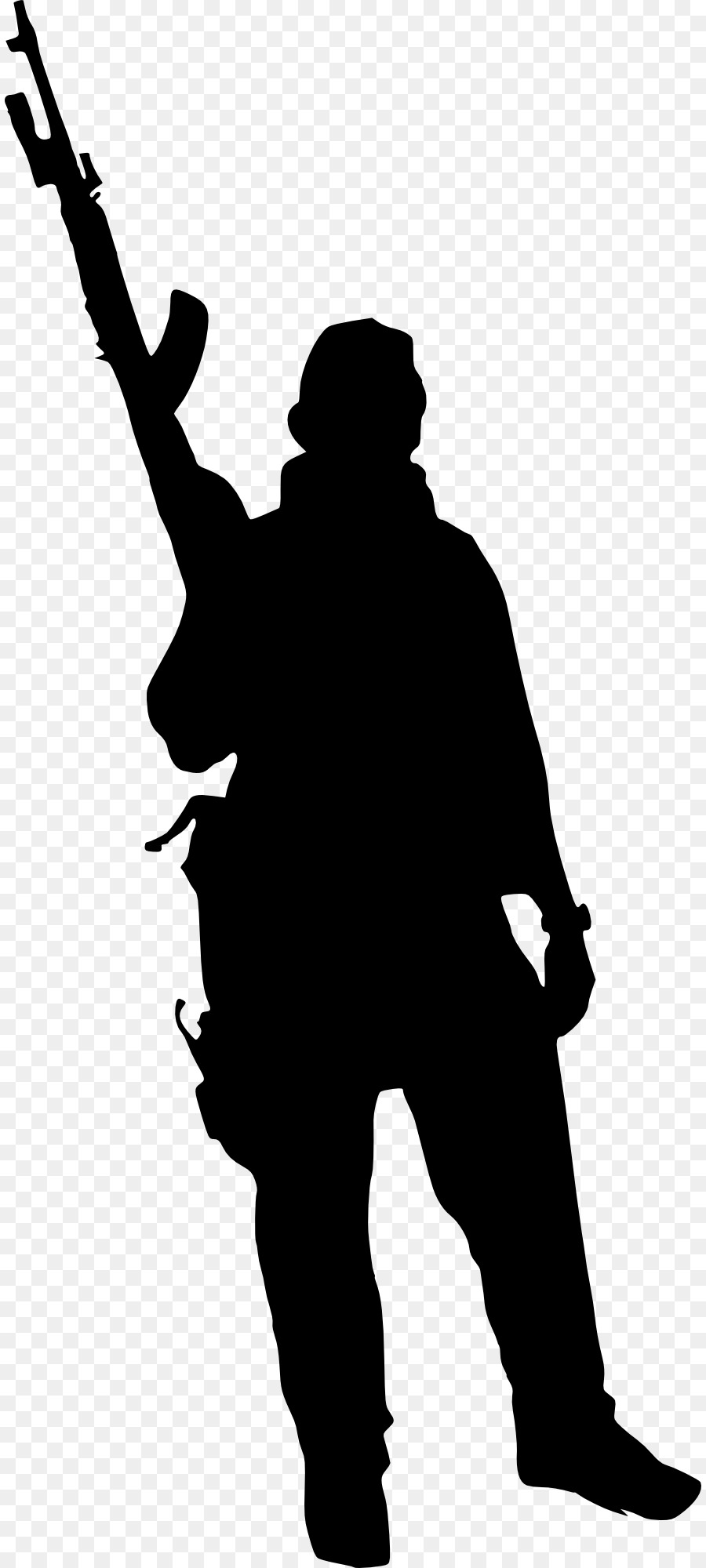 900x2000 Silhouette Soldier Military