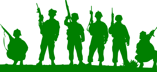 600x275 Soldiers Clipart Indian Soldier