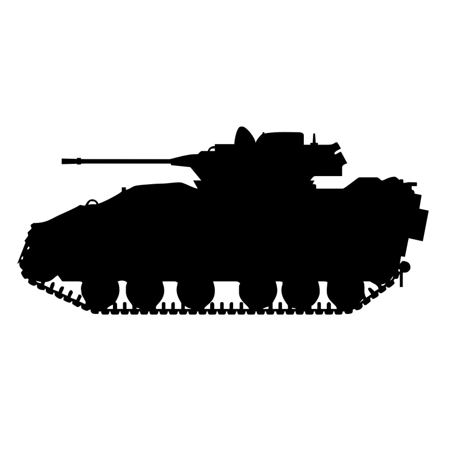 900x900 Military Army Tank Wall Sticker Waterproof Removable Art