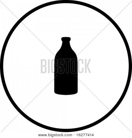 Milk Bottle Silhouette At Getdrawings Free For Personal Use