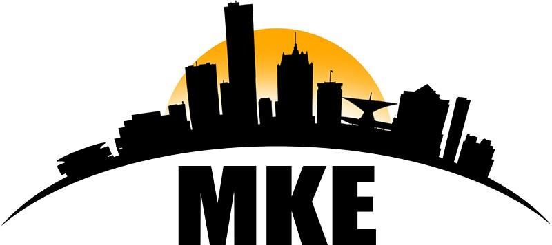 800x356 Milwaukee Skyline Stickers By Jayg3031 Redbubble
