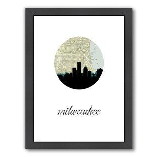 310x310 Milwaukee Skyline Art Wayfair