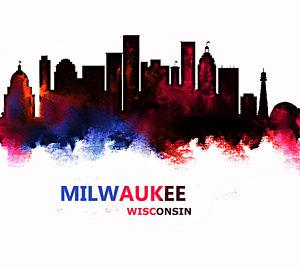 300x268 Milwaukee Skyline Paintings